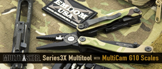Multitasker Series 3X with MultiCam G10 Scales (Limited Edition) Overview