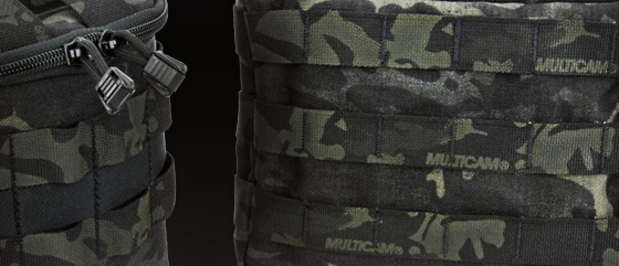 Custom-Made – Black MultiCam Gears